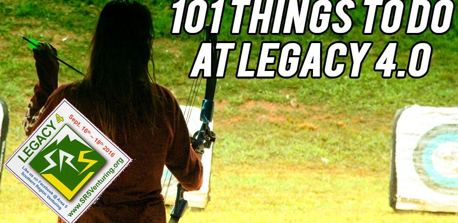 101 Things to Do at Legacy 4.0
