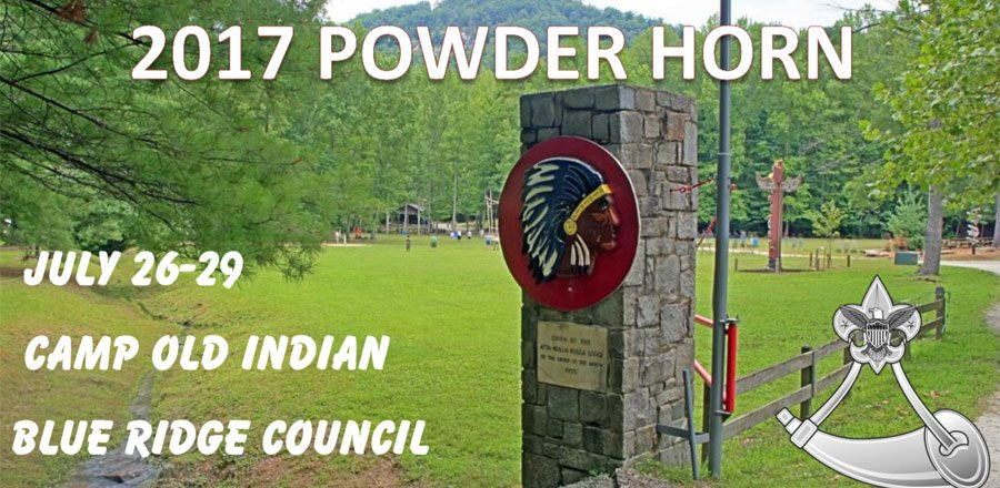 Powder Horn at Camp Old Indian